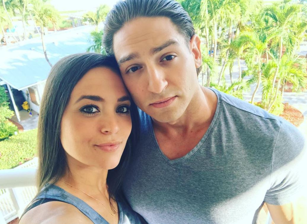Giancola and her boyfriend, Christian Biscardi