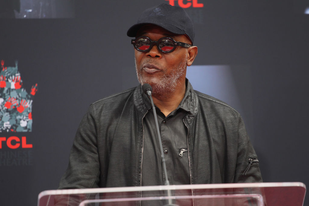 Samuel L. Jackson never seems to age.