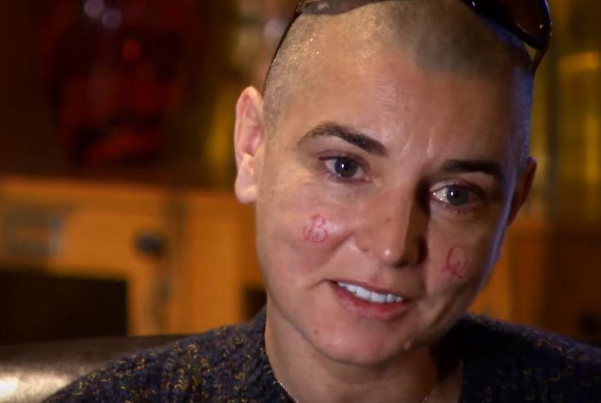 Sinéad O'Connor tattoo