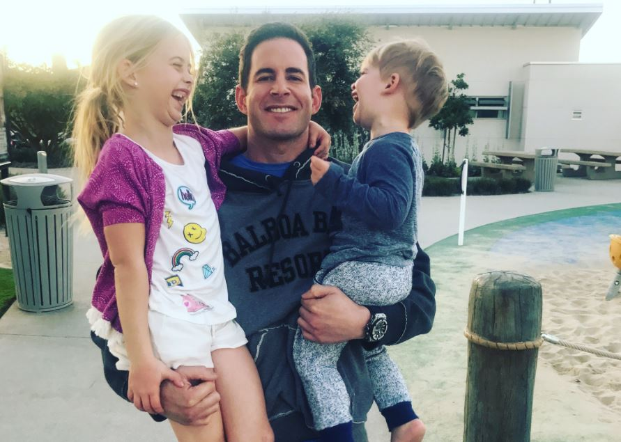 Tarek El Moussa and kids