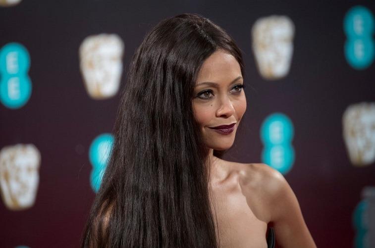 Thandie Newton on the red carpet