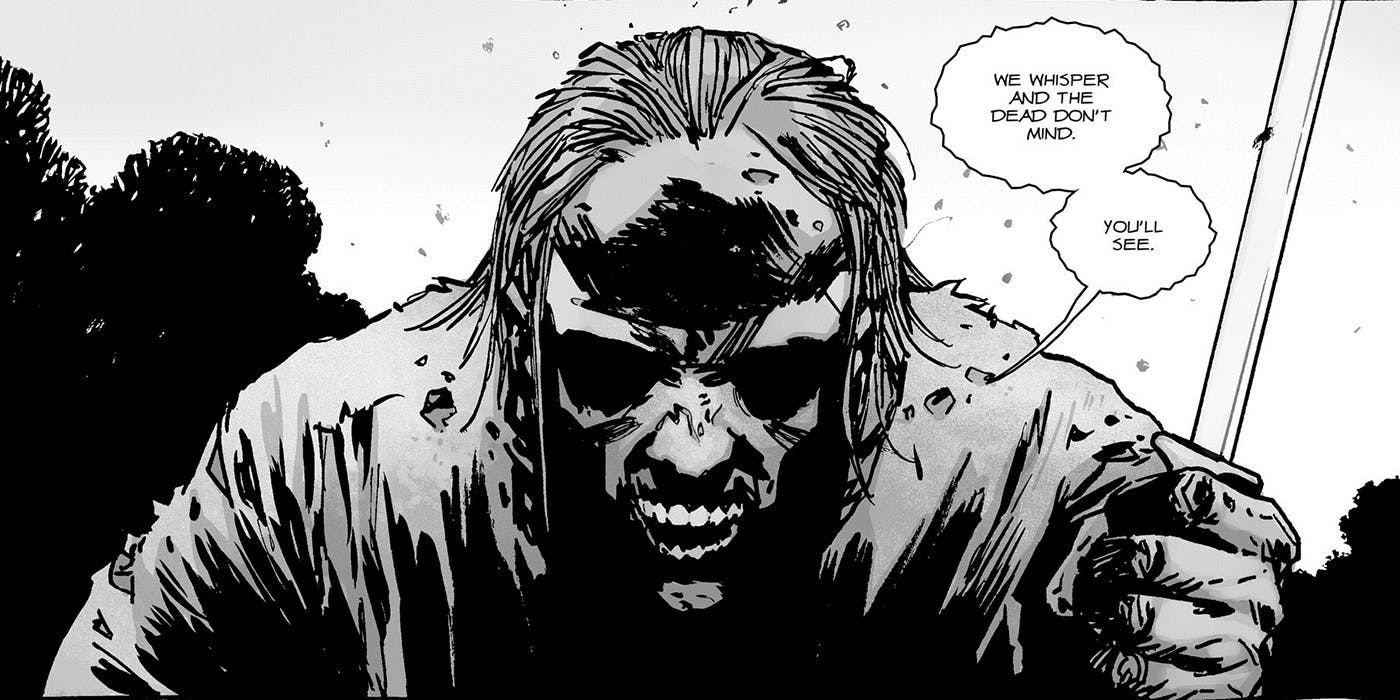 The Whisperers in The Walking Dead comics