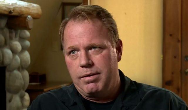 Thomas Markle Jr. during his interview.