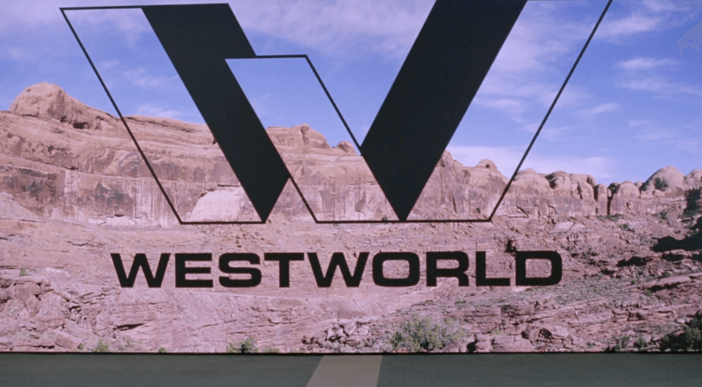 The old logo from Westworld