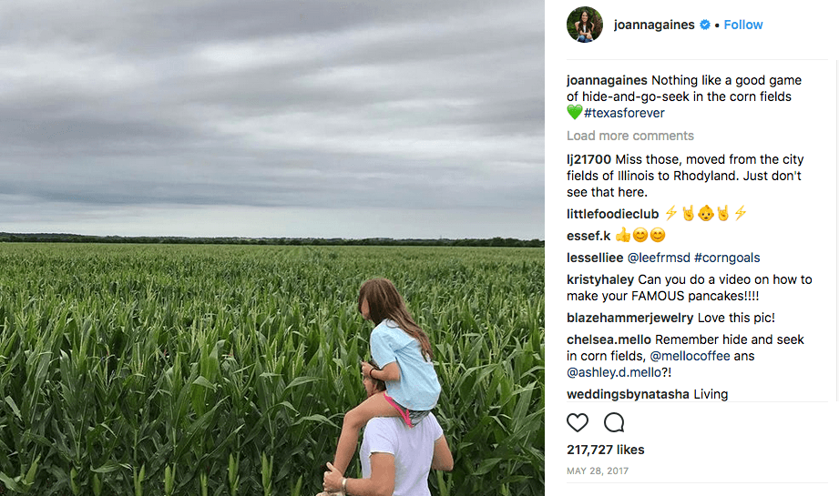 Joanna Gaines via Instagram