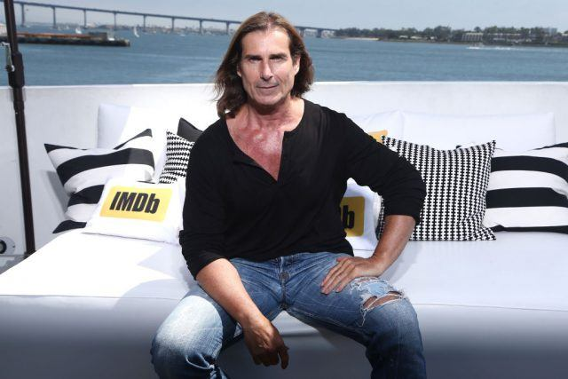 Actor Fabio Lanzoni on the #IMDboat at San Diego Comic-Con 2017