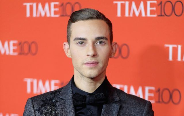 Adam Rippon at the Time 100 Gala red carpet.