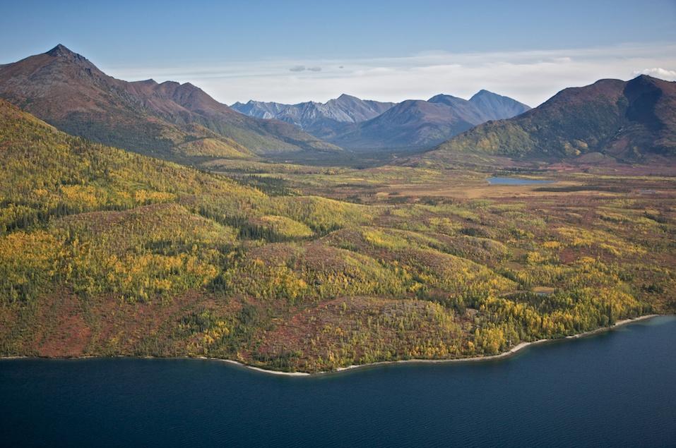 Alaskan Mountain Valley