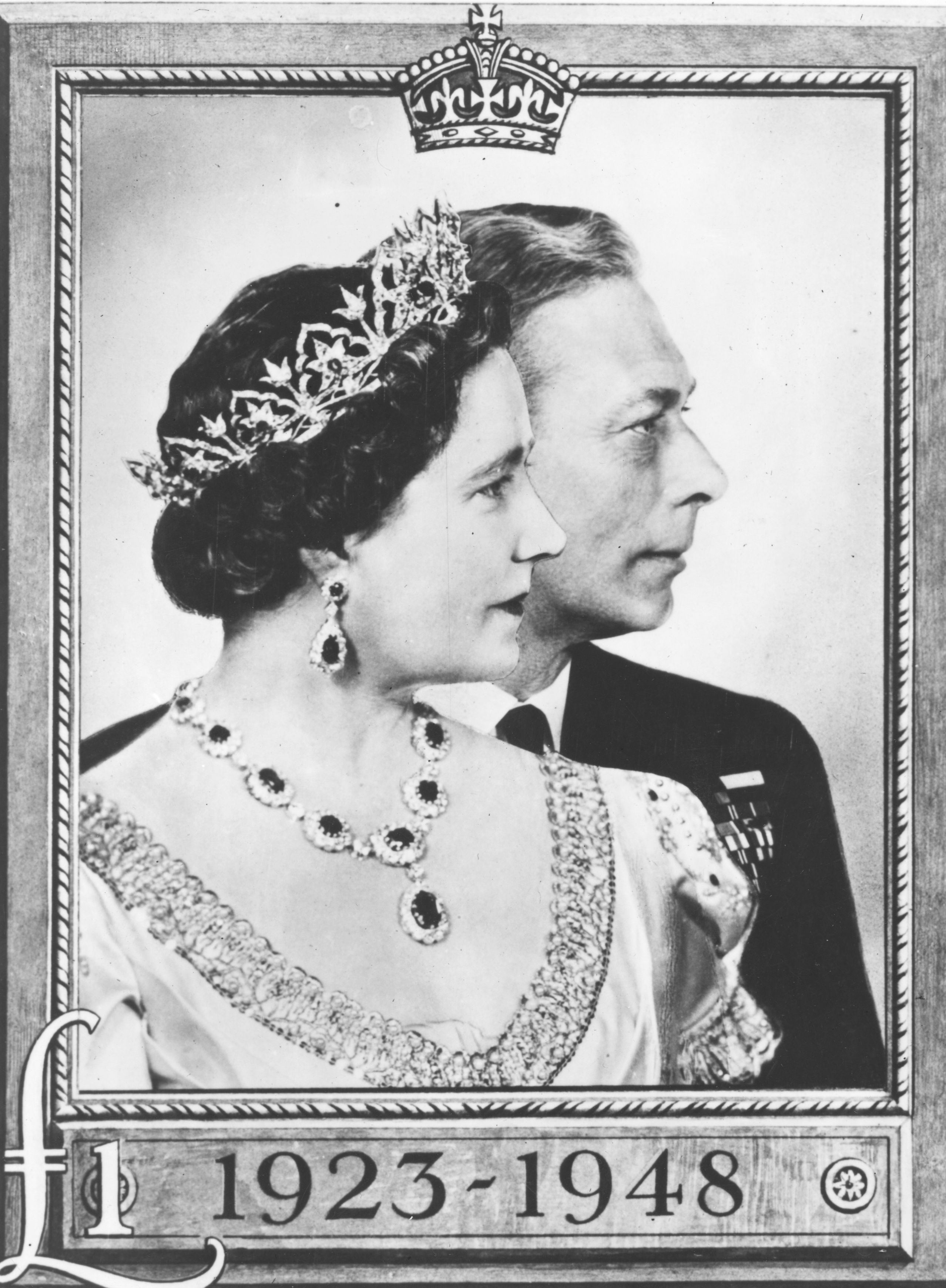 Prince Albert and Elizabeth stamp