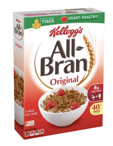 Kellogg's all-bran cereal.