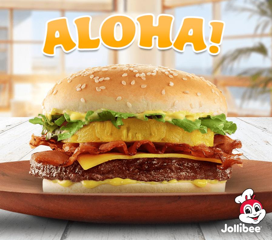 Aloha burger Jollibee USA
