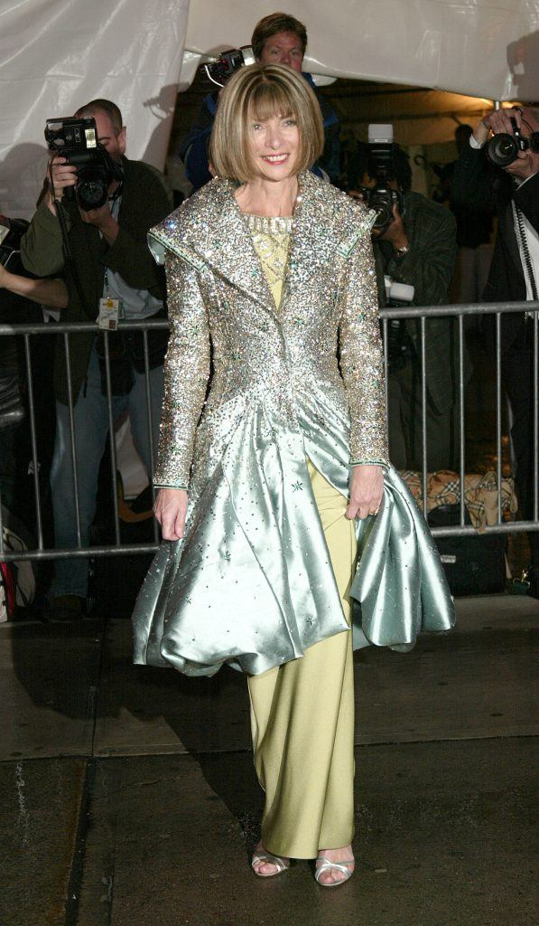 Anna Wintour attends the 'Dangerous Liaisons: Fashion and Furniture in the 18th Century' Costume Institute benefit gala