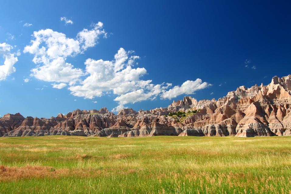 Badlands National Park Prairie