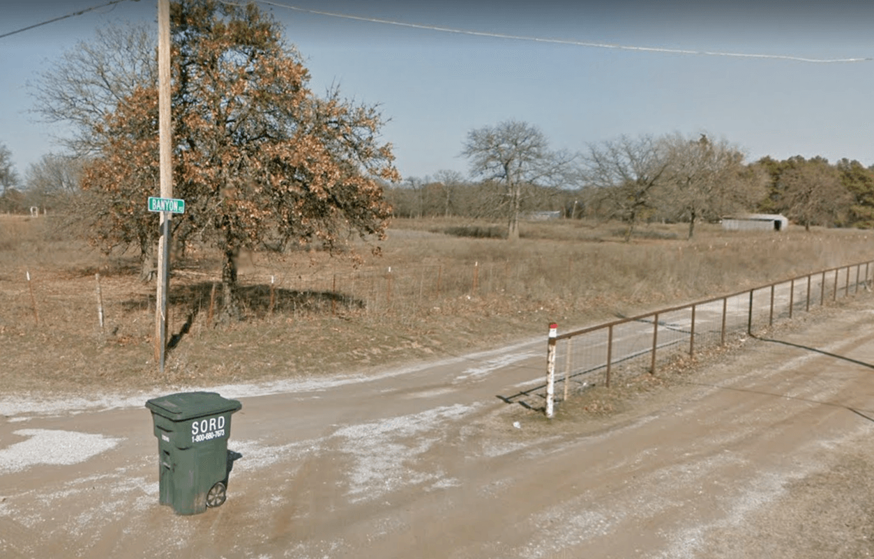 Banyon Rd Ardmore Oklahoma