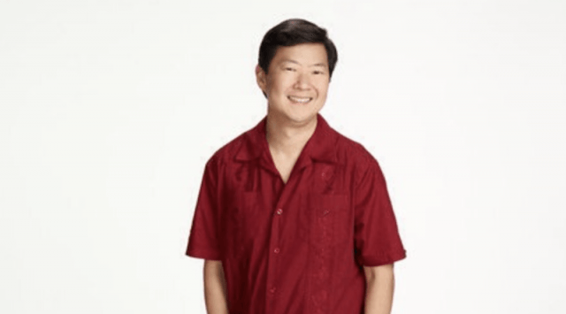 Ben Chang smiling in a promo photo for 'Community'.
