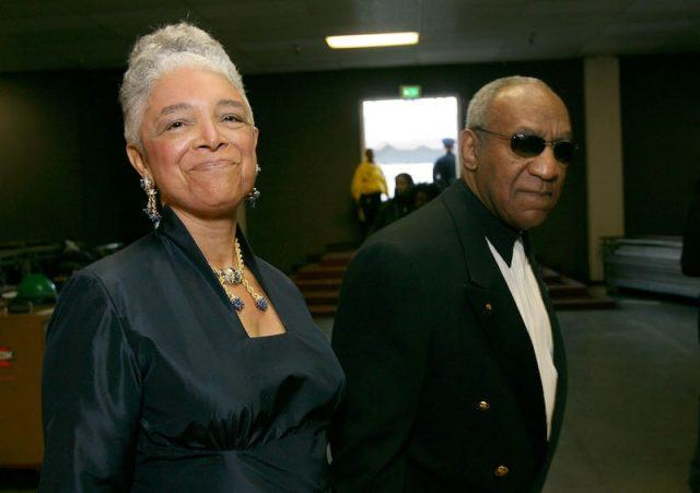 Bill Cosby and Dr. Camille at a formal event.