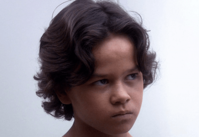 A close up of young Boba Fett.