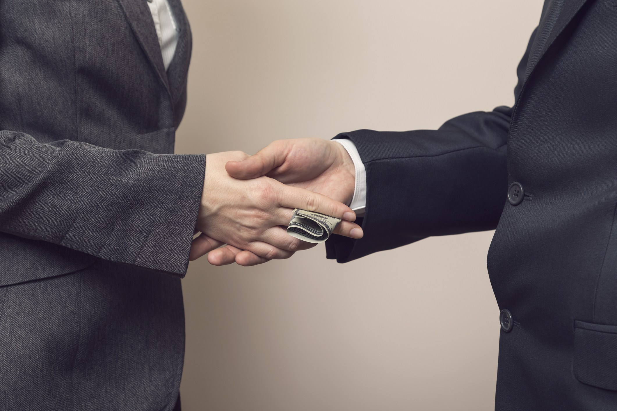 Bribery or Business corruption
