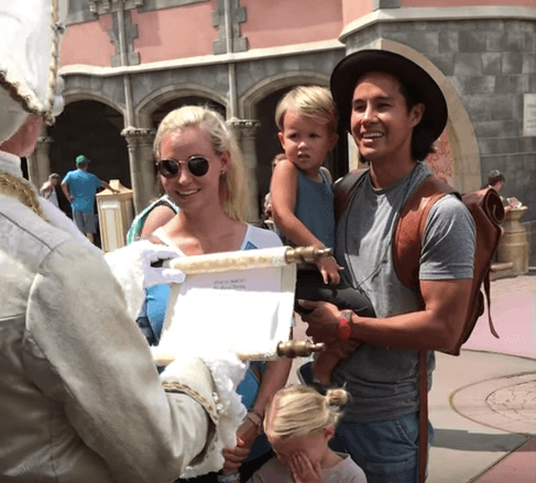 The Bucket List Family stay in the Cinderella Castle at Disney