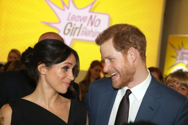 Meghan Markle and Prince Harry attend the Women's Empowerment reception