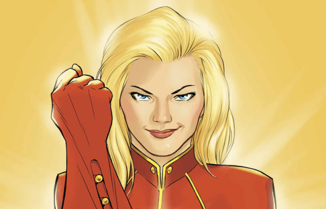 Carol Danvers in the Marvel Comics.
