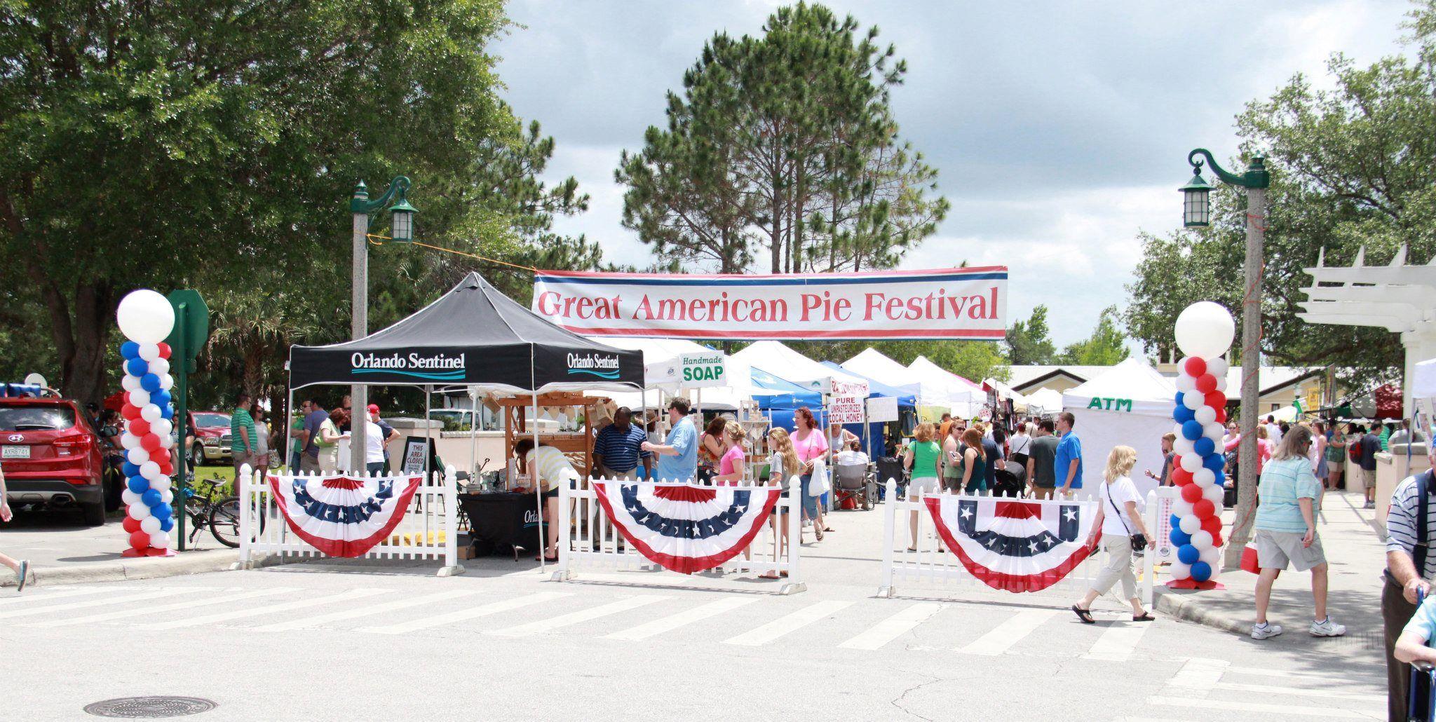 Celebration Florida pie festival