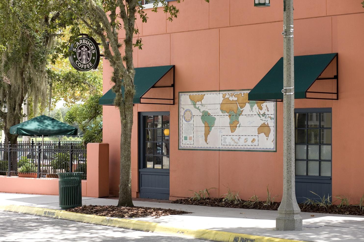Starbucks Coffee in Celebration Florida