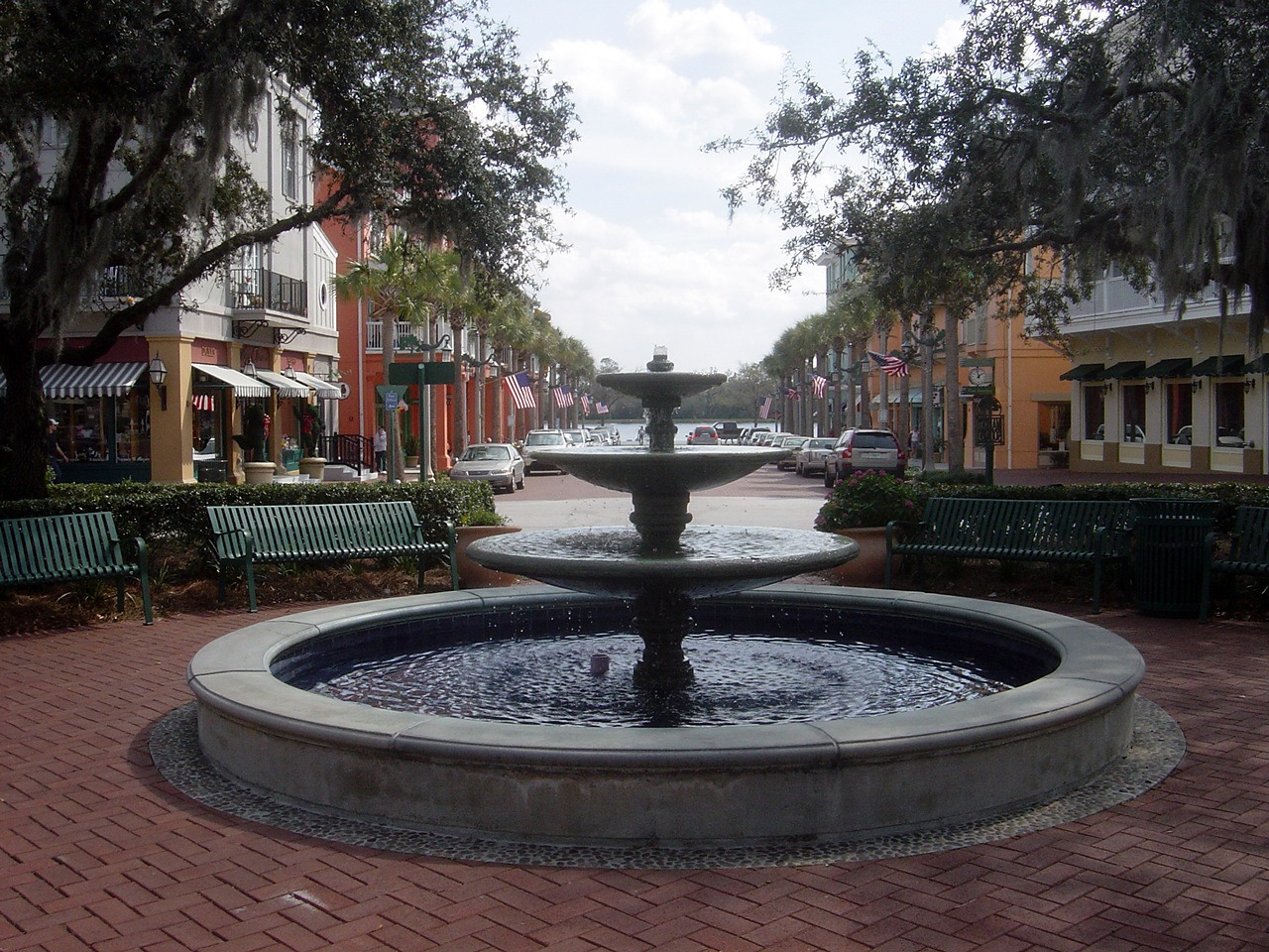 Celebration Florida main square
