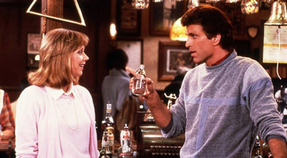 Sam and Diane on Cheers