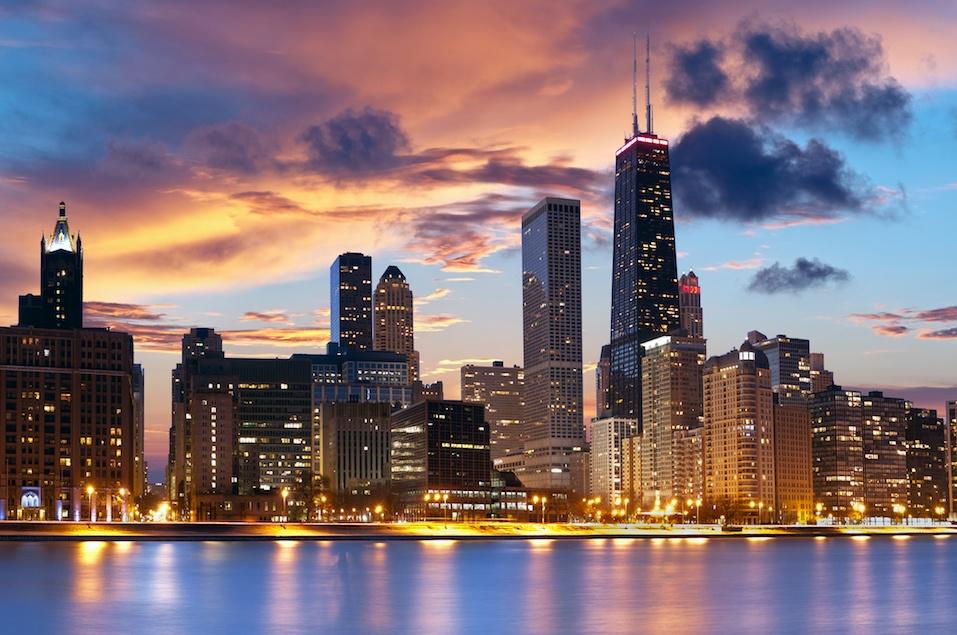 Chicago downtown skyline