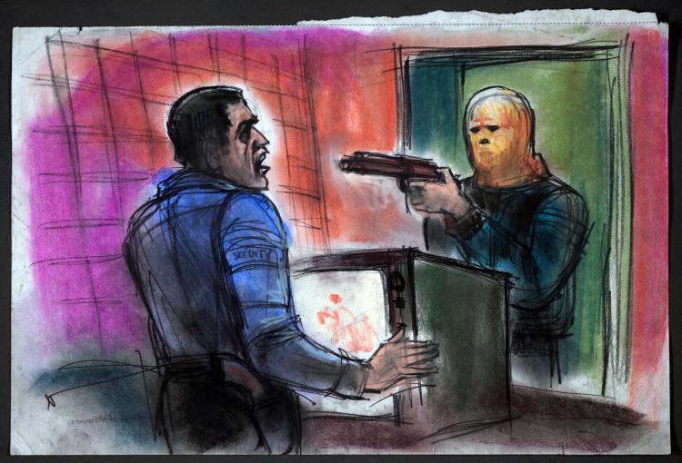 Christos Potamitis robbery