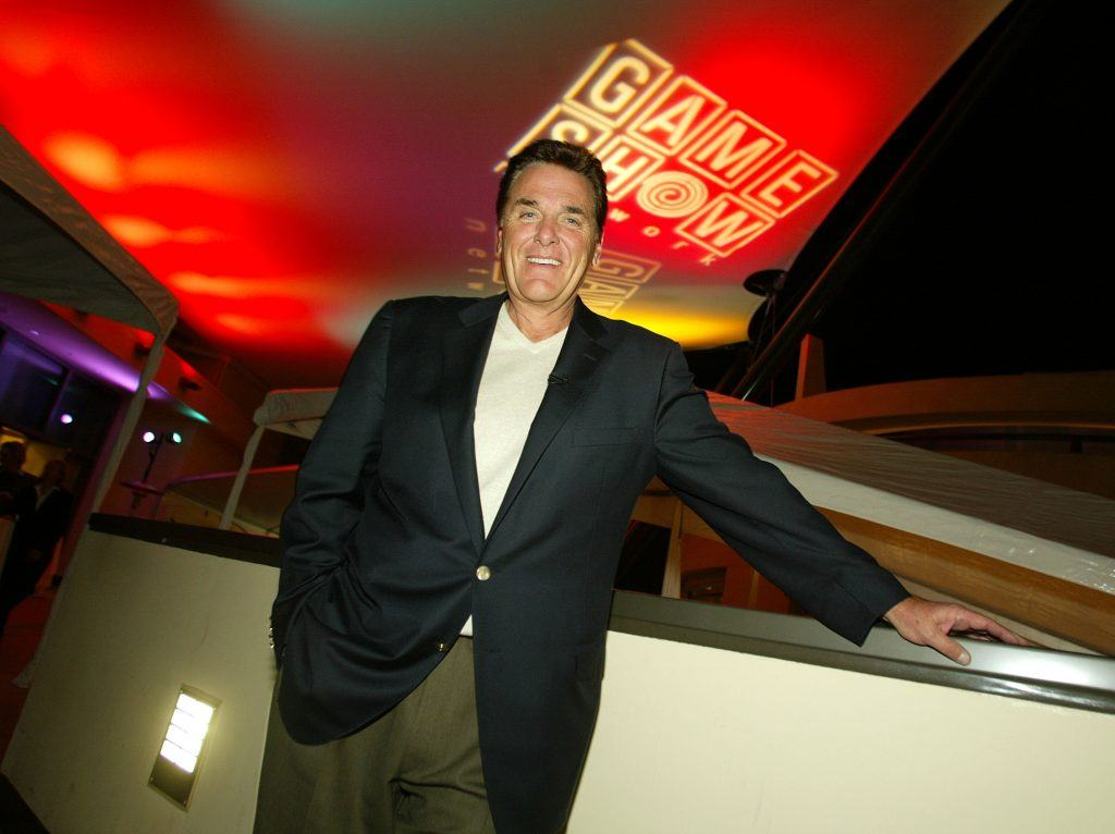 """Chuck Woolery at the """"Game Show Networks 2003 Winter TCA Tour"""""""
