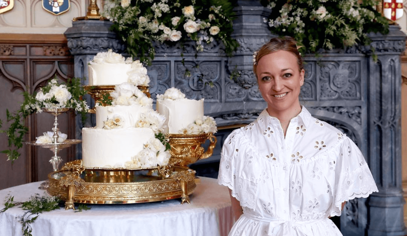 Claire Ptak wedding cake