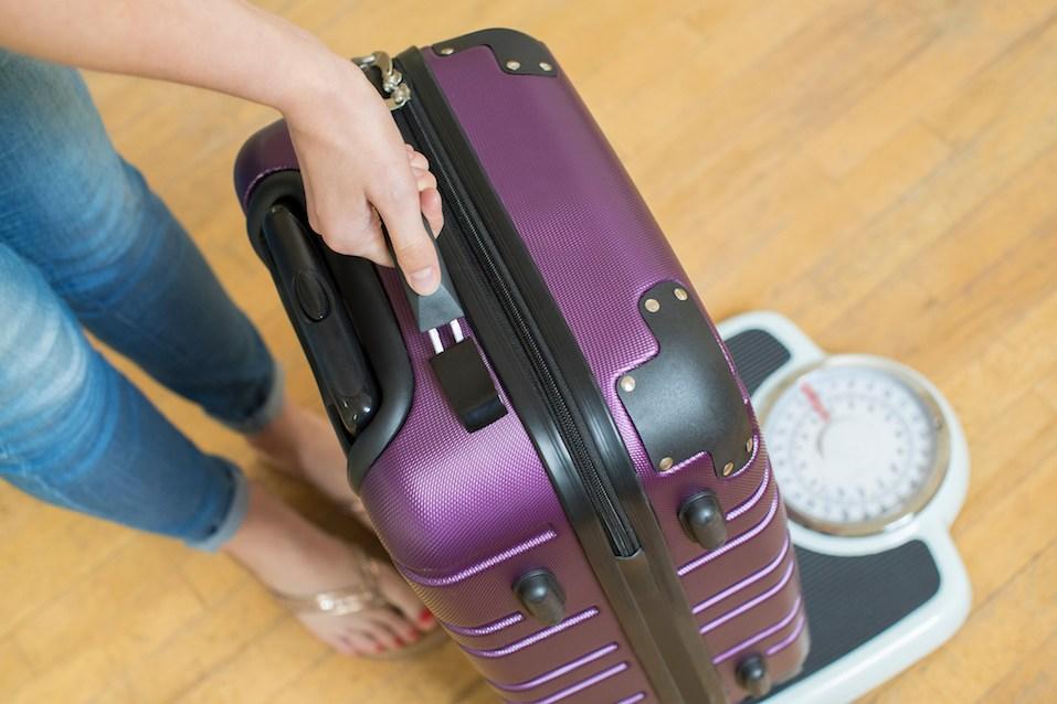 Weighing Suitcase