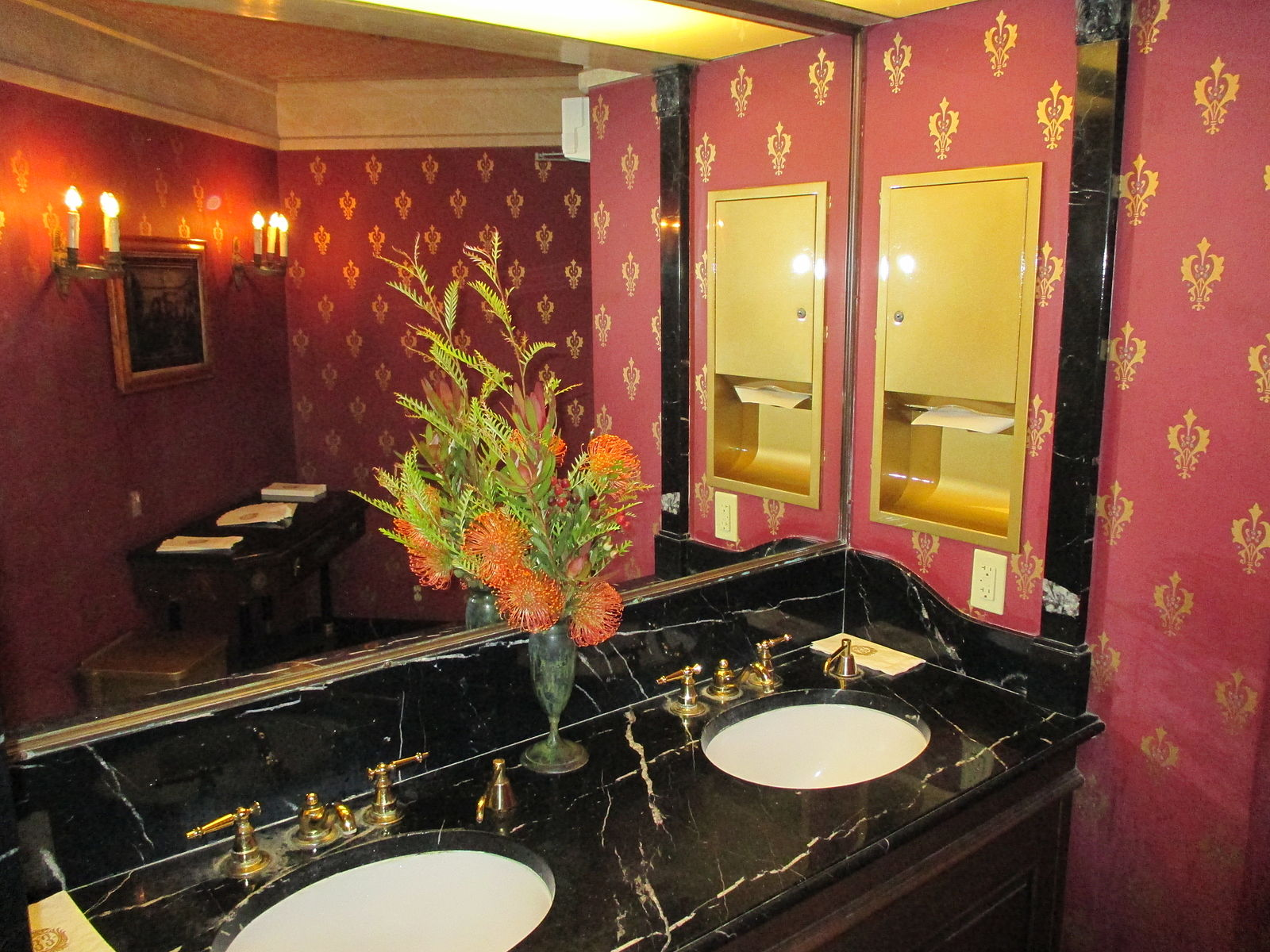 Club 33 bathroom