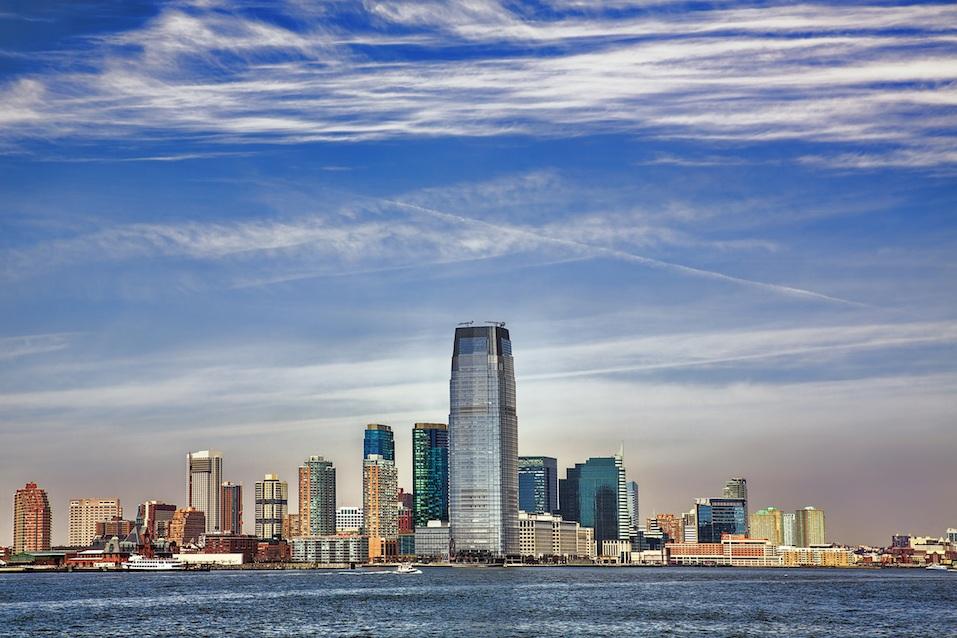 Hudson Riverfront in Jersey City