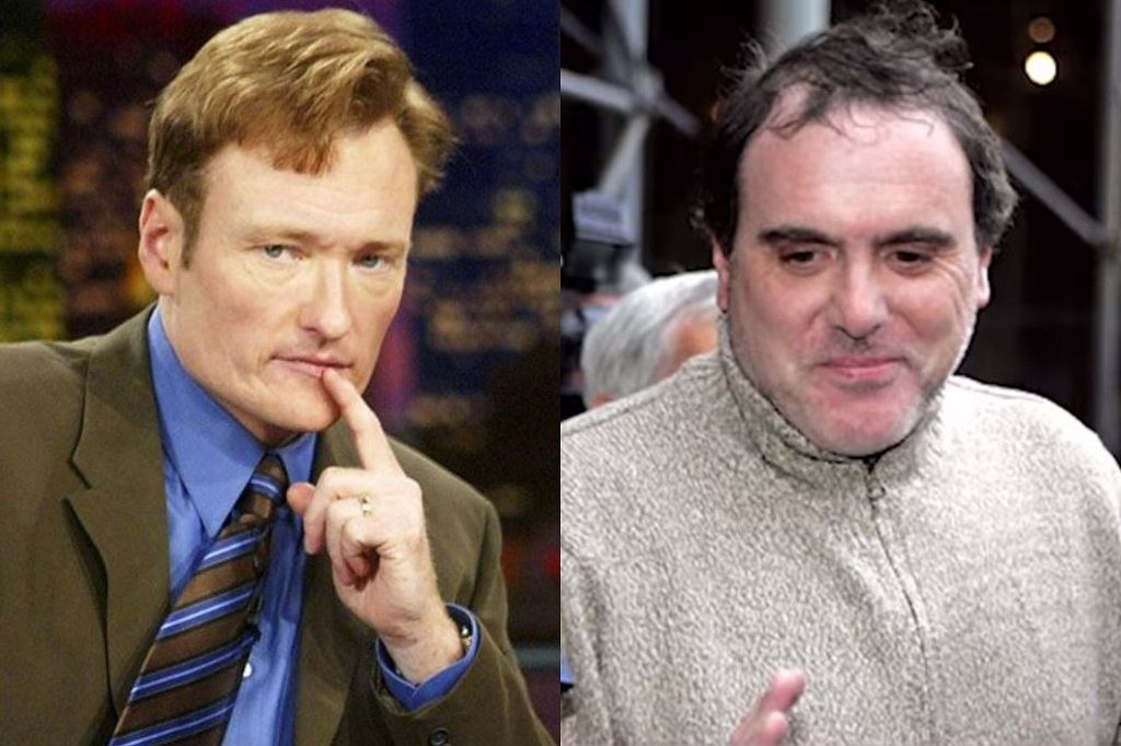 Former Late Night host Conan O'Brien and David Ajemian