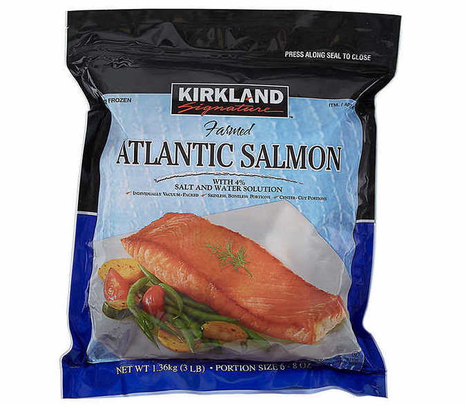 Costco Kirkland salmon