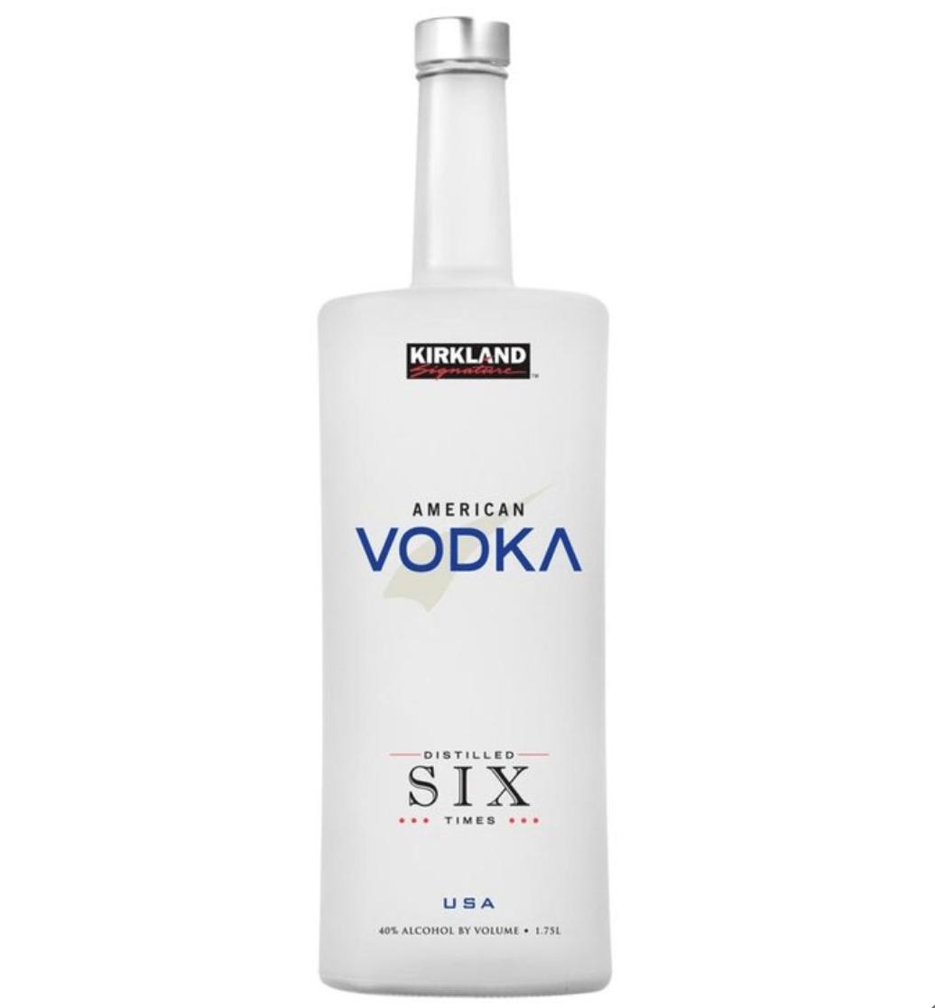 Costco Kirkland vodka