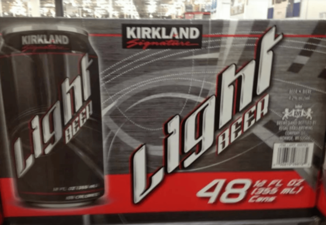 Costco light beer