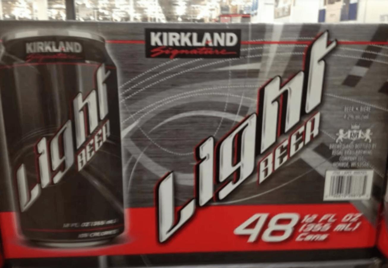 Costco light beer