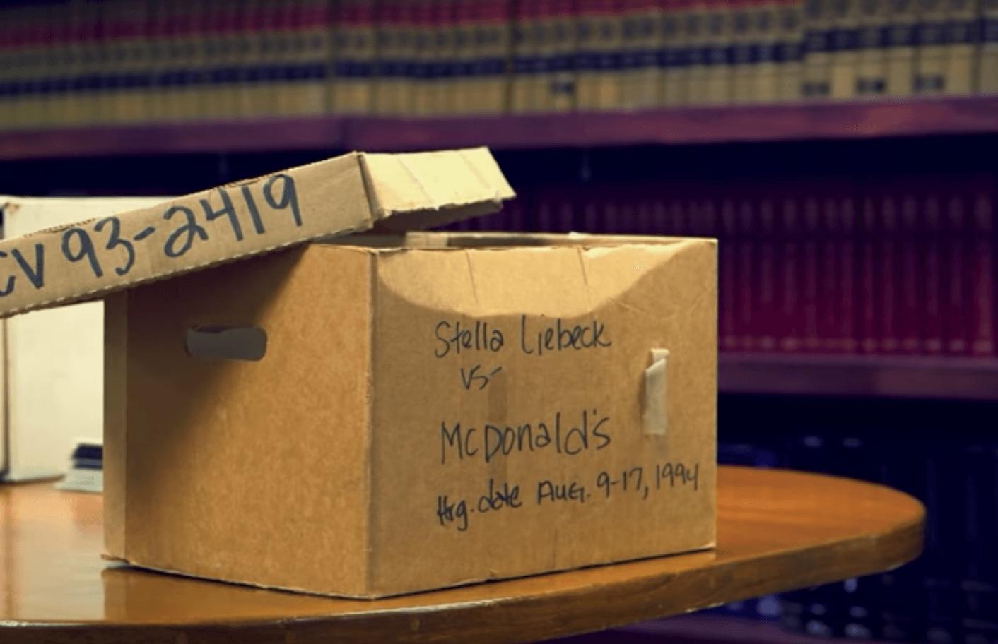 Court case mcdonald's coffee box