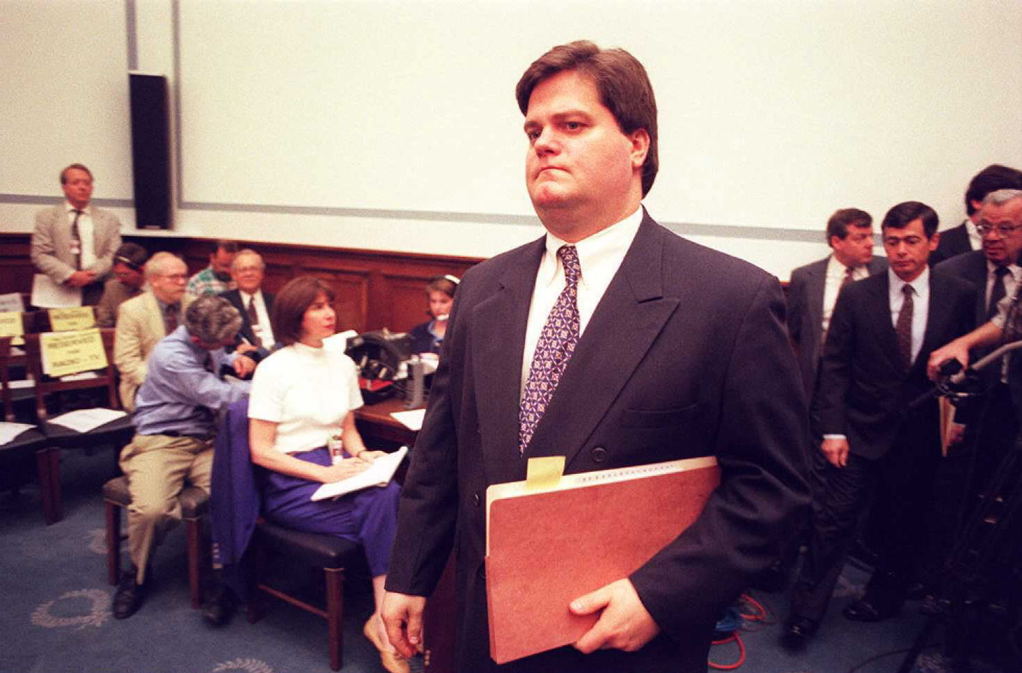 Former Clinton Administration Director of Personnel Security Craig Livingstone