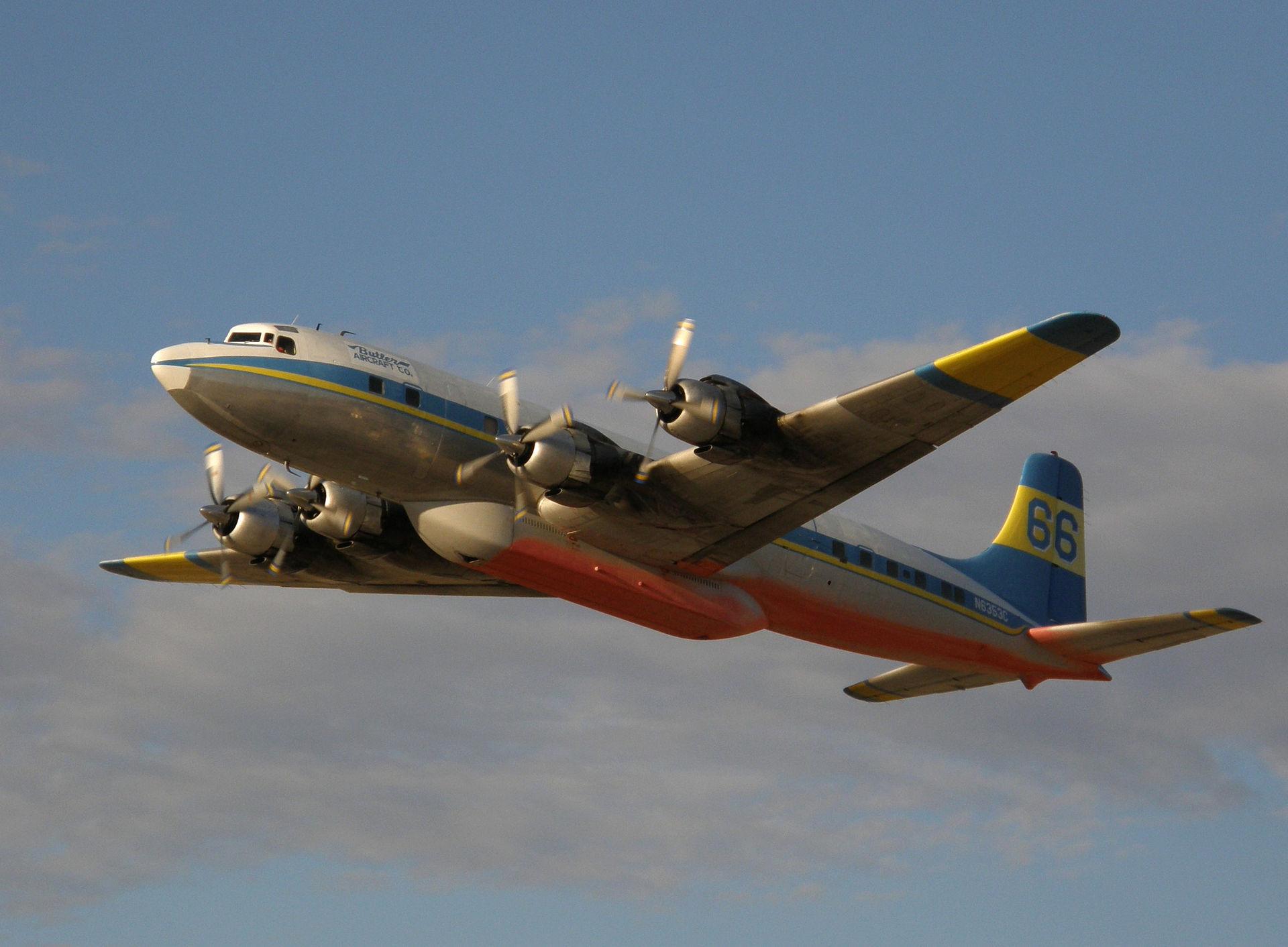 DC-7 aircraft