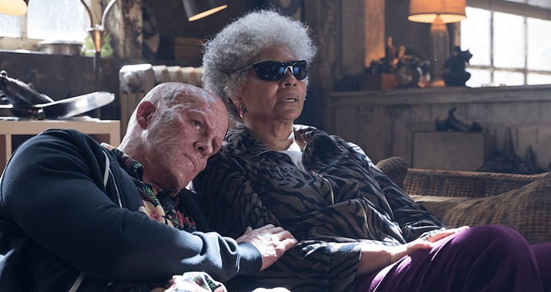 Deadpool and Blind Al in Deadpool 2