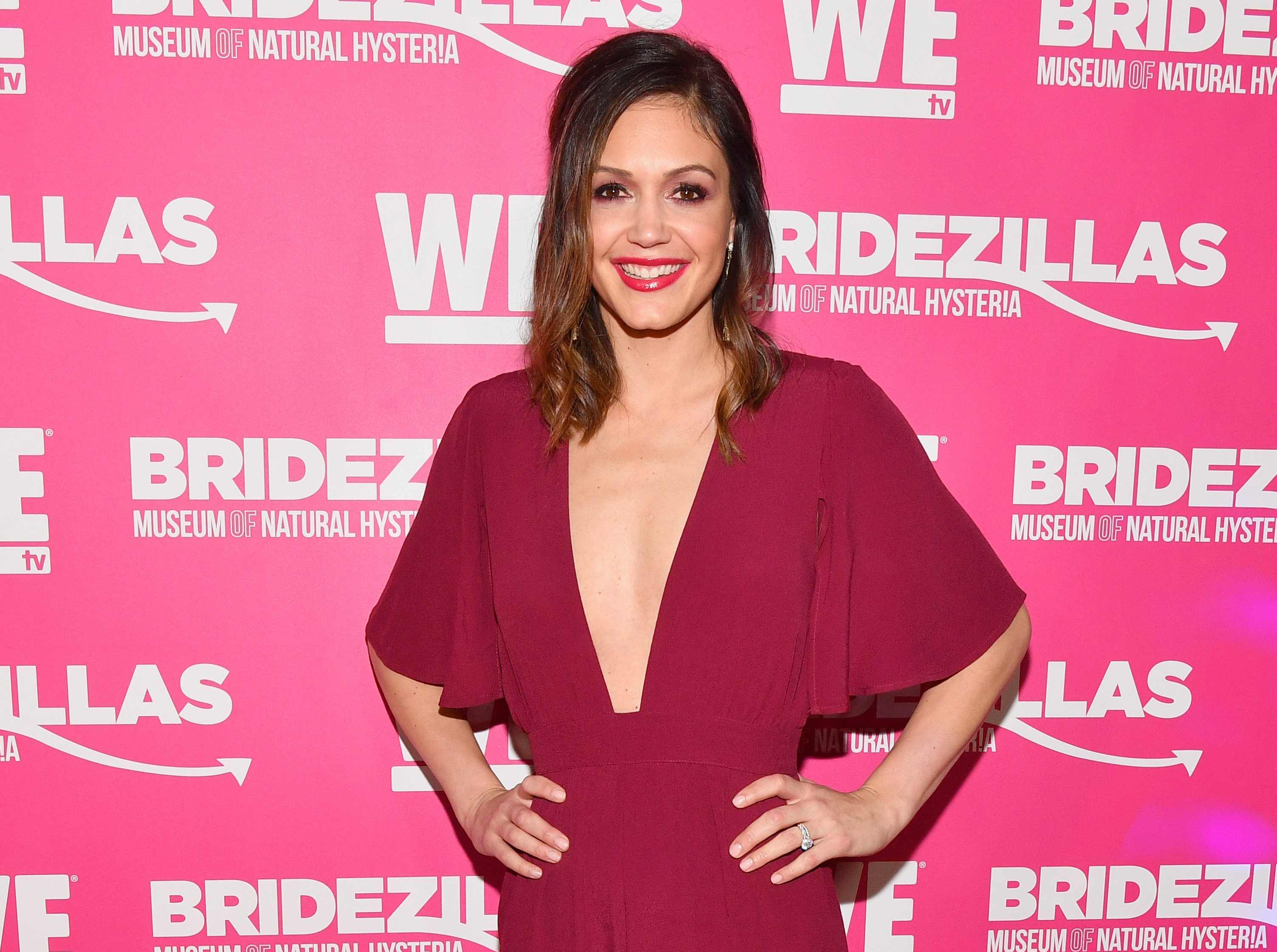 Desiree Hartsock at movie premier