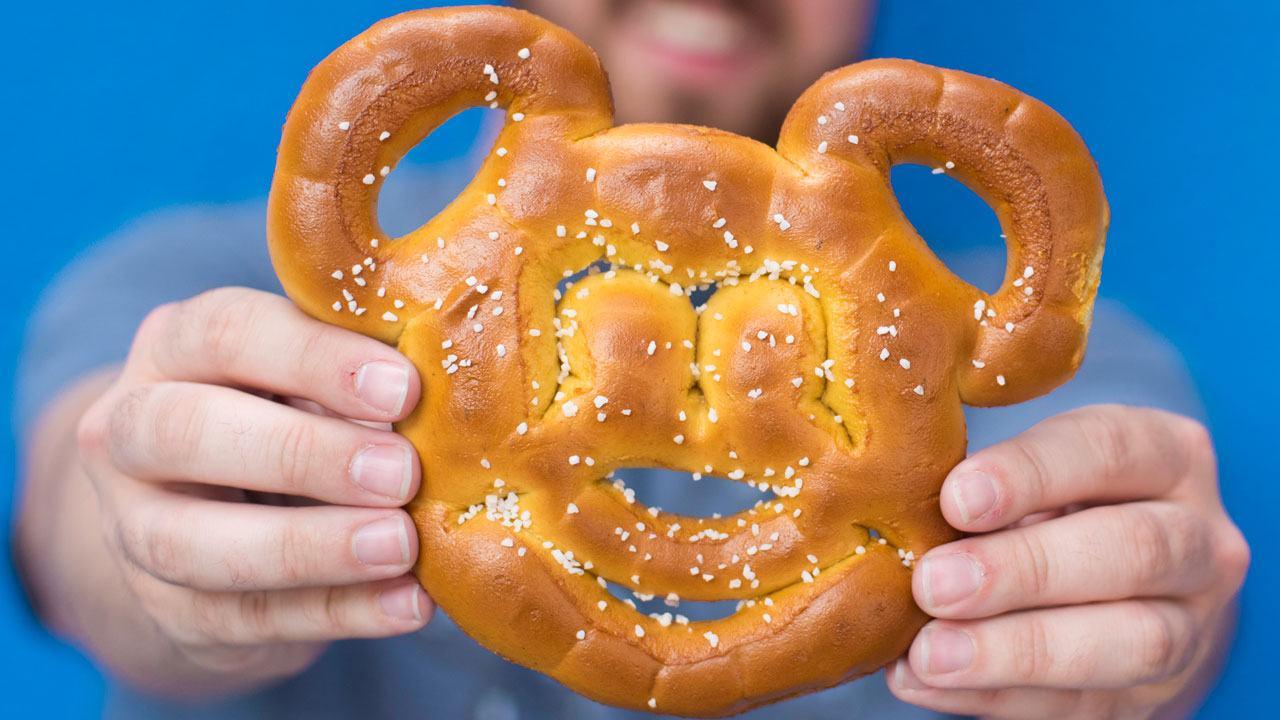 Disney pretzel