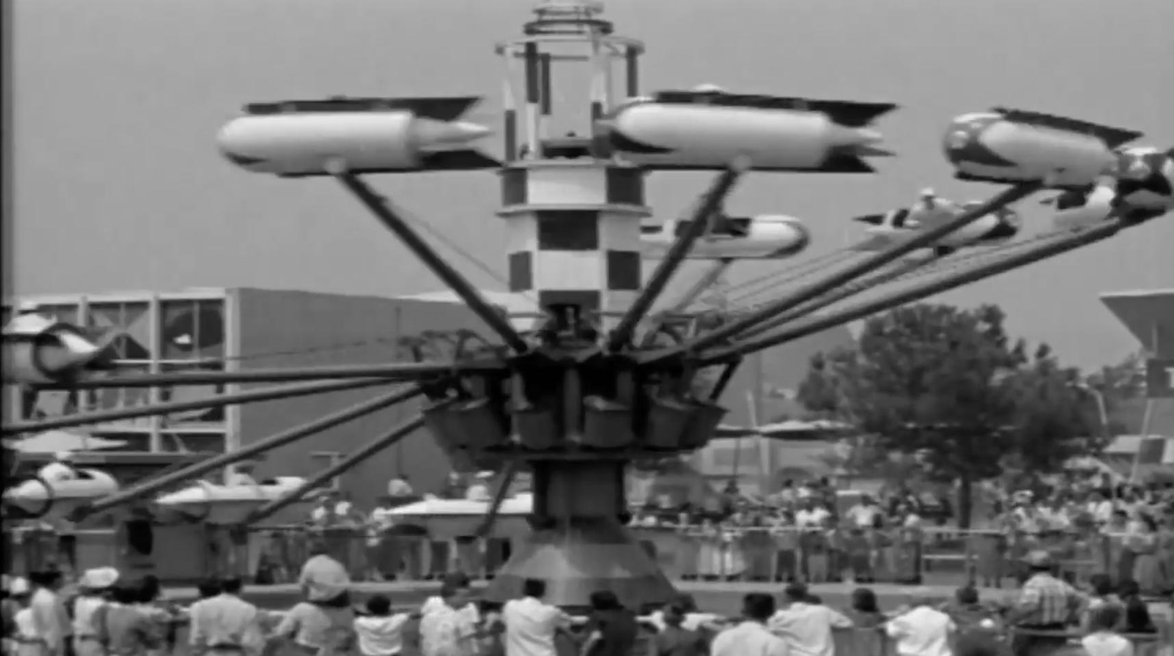 Disneyland opening day 1955 footage