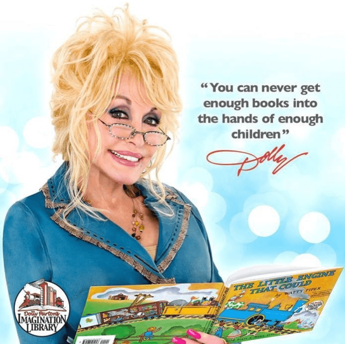 Dolly Parton literacy