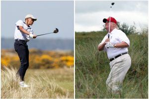 Photos That Make Donald Trump Look 100 Times Unhealthier Than Barack Obama
